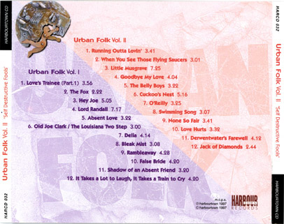 urban folk back cover
