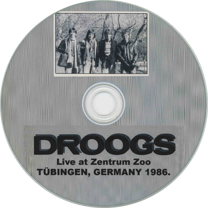 droogs cdr live germany 1986 label