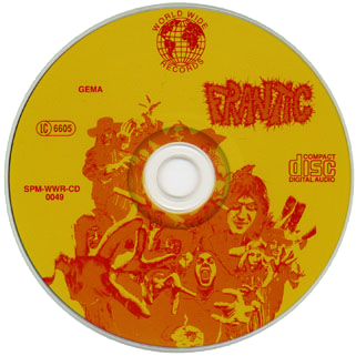 frantic cd conception wwr label