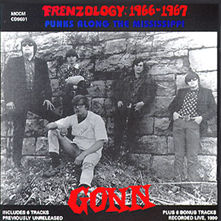 gonn cd frenzology 1966 1967 front