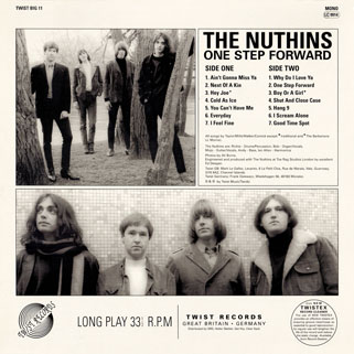 nuthins lp one step forward back