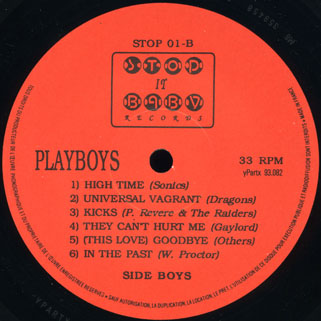 playboys lp girl label B