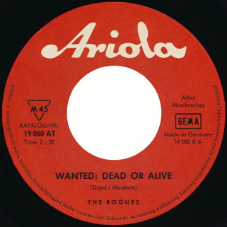 rogues german single side wanted dead or alive