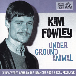 rogues kim fowley underground animal cd front