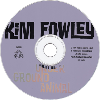 rogues kim fowley underground animal cd label