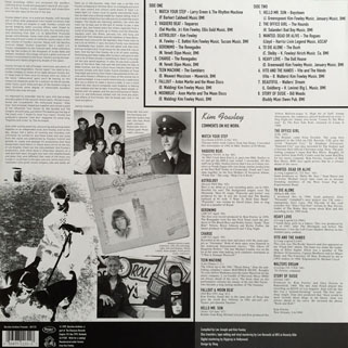 rogues kim fowley underground animal lp back cover