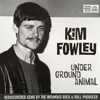 rogues kim fowley underground animal lp front