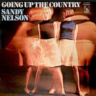 sandy nelson lp  goin up the country front