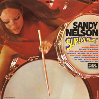 sandy nelson usa lp superdrums front