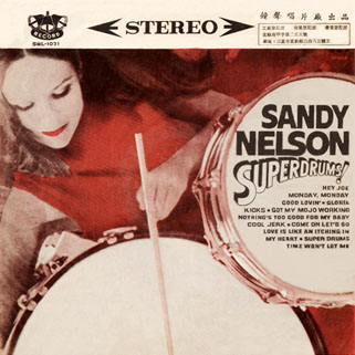 sandy nelson taiwan lp superdrums front