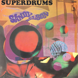 sandy nelson uk lp superdrums front
