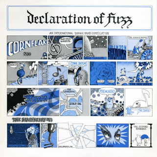 seen lp blue declaration of fuzz front