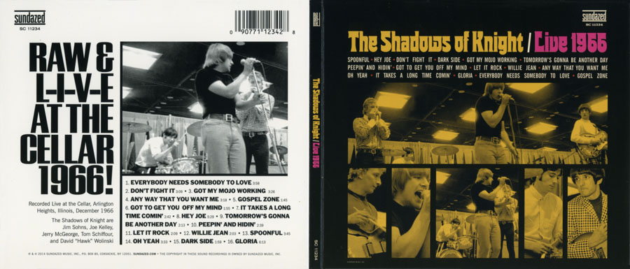 shadows of knigh cd live 1966 out