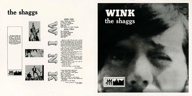 shaggs CD wink cover out