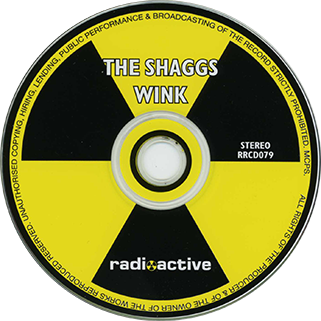 shaggs CD wink label