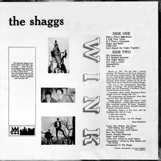 shaggs lp wink resurrection back cover