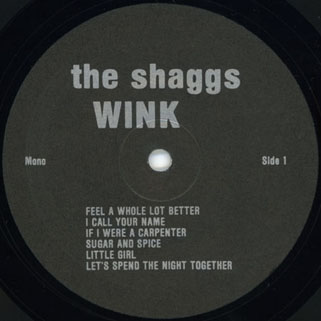 shaggs lp wink resurrection label 1
