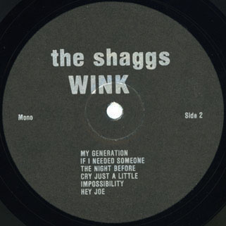 shaggs lp wink resurrection label 2