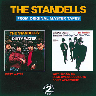standells cd dirty water big beat mono front