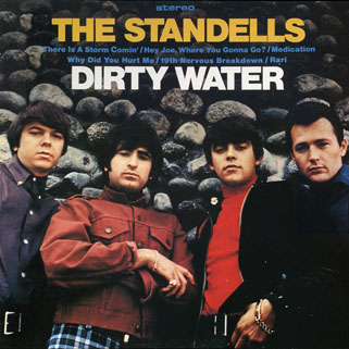 standells lp dirty water stereo eva records 12083 front