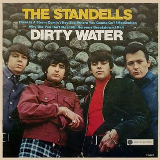 standells lp dirty water sparton mono front