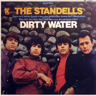 standells lp dirty water tower stereo front