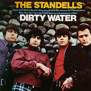 standells cd dirty water sundazed mono front