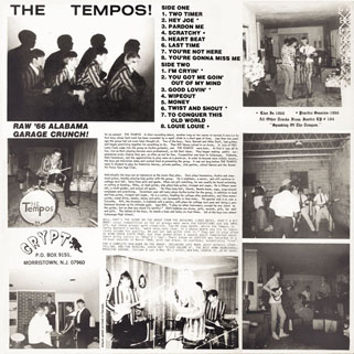 tempos lp back from the grave special edition back cover