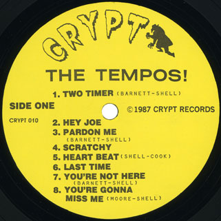 tempos lp back from the grave special edition label 1