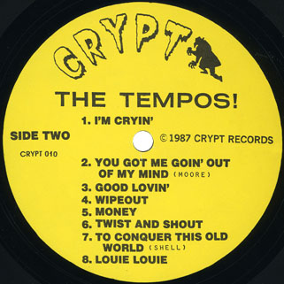 tempos lp back from the grave special edition label 2
