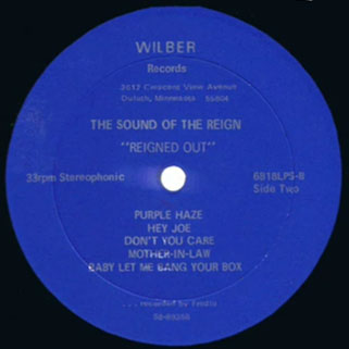 the sound of the reign lp reigned out side 2