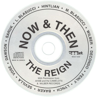 the reign cd now and then label