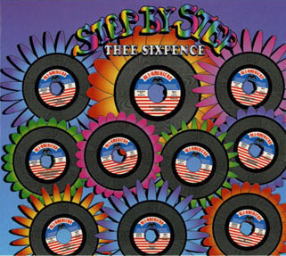 thee sixpence cd step by step front