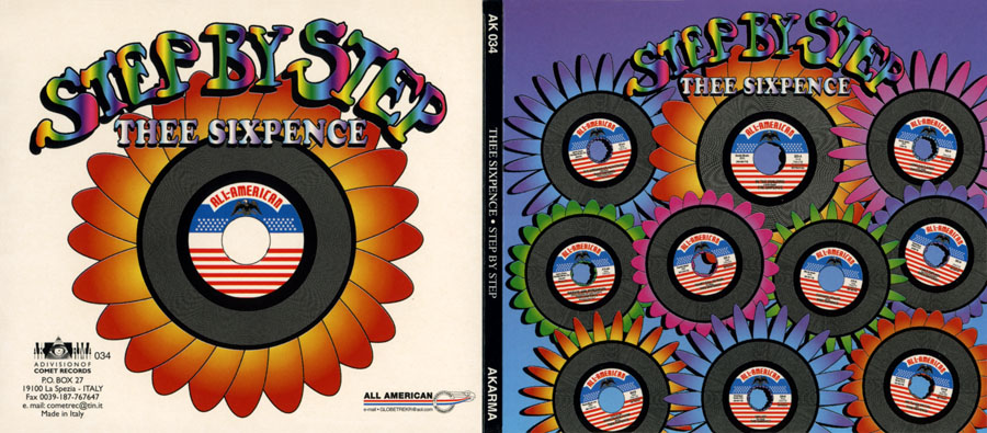 thee sixpence cd step by step out