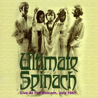 ultimate spinach cd live at the unicorn front