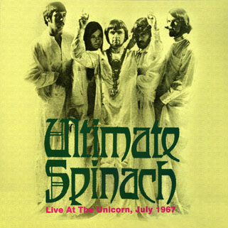 ultimate spinach live at the unicorn keyhole lp front