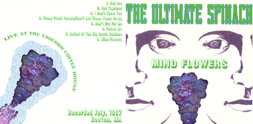 ultimate spinach cd mind flowers sleeve out
