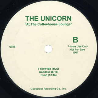 ultimate spinach unicorn lp side b
