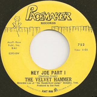 velvet hammer single side hey joe part 1