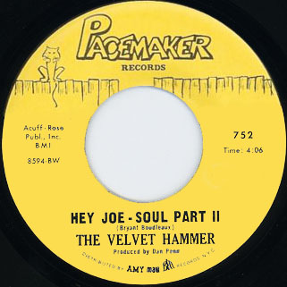velvet hammer single side hey joe part 2