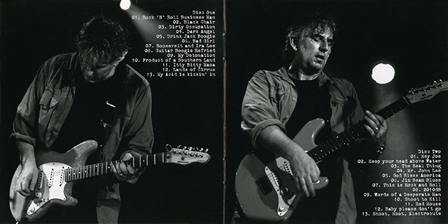 rob tognoni rock and roll live booklet 1