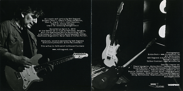 rob tognoni rock and roll live booklet 2