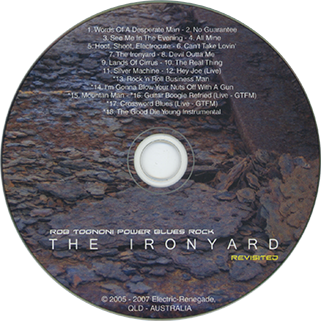 rob tognoni cd ironyard revisited germany label