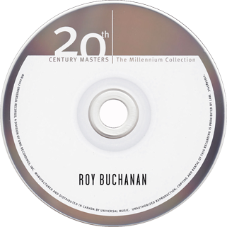 roy buchanan best of 20th century masters label