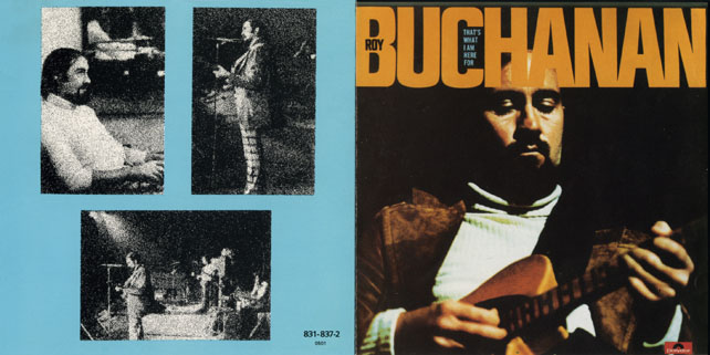 roy buchanan cd that's what i am here for cover out