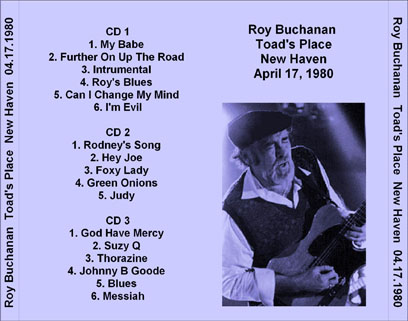 roy buchanan 1980 04 17 toad's place new haven tray