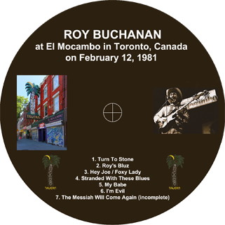 roy buchanan 1981 02 12 el mocambo toronto label