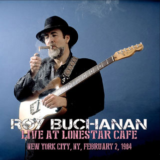 roy buchanan lonestar cafe 1984 front