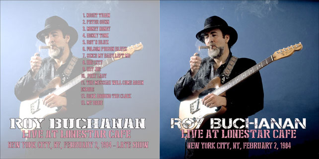 roy buchanan lonestar cafe 1984 cover out