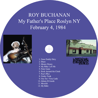 roy buchanan 1984 02 04 my father's place label
